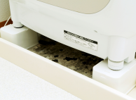 洗濯機かさ上げ台設置